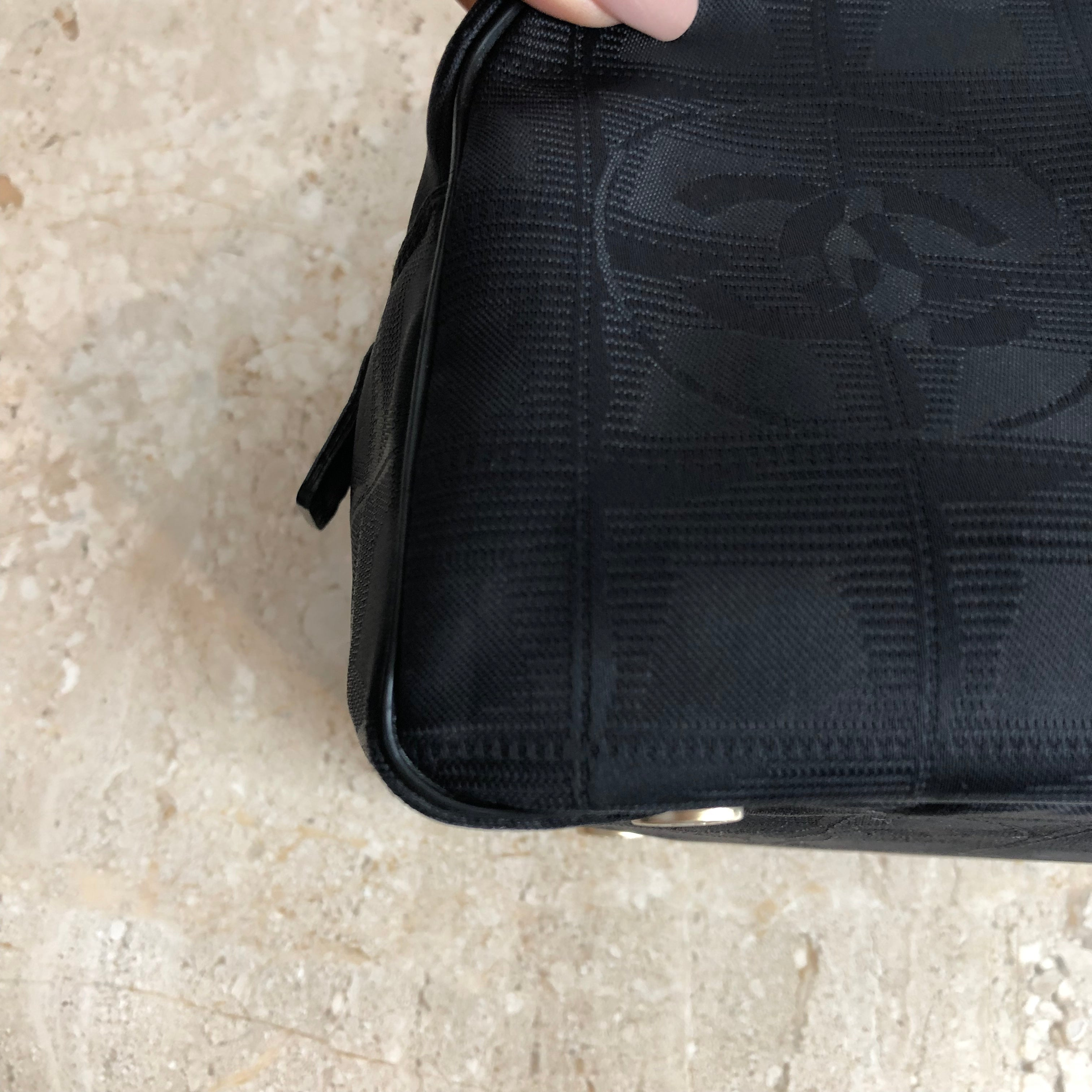 Thirds and last Payment Authentic CHANEL Logo Handbag