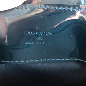 Authentic LOUIS VUITTON Melrose Avenue in Bleu Nuit Handbag