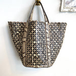 Authentic ALAIA Python Bucket Tote