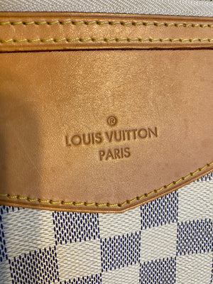 Authentic LOUIS VUITTON Siracusa MM Crossbody Bag