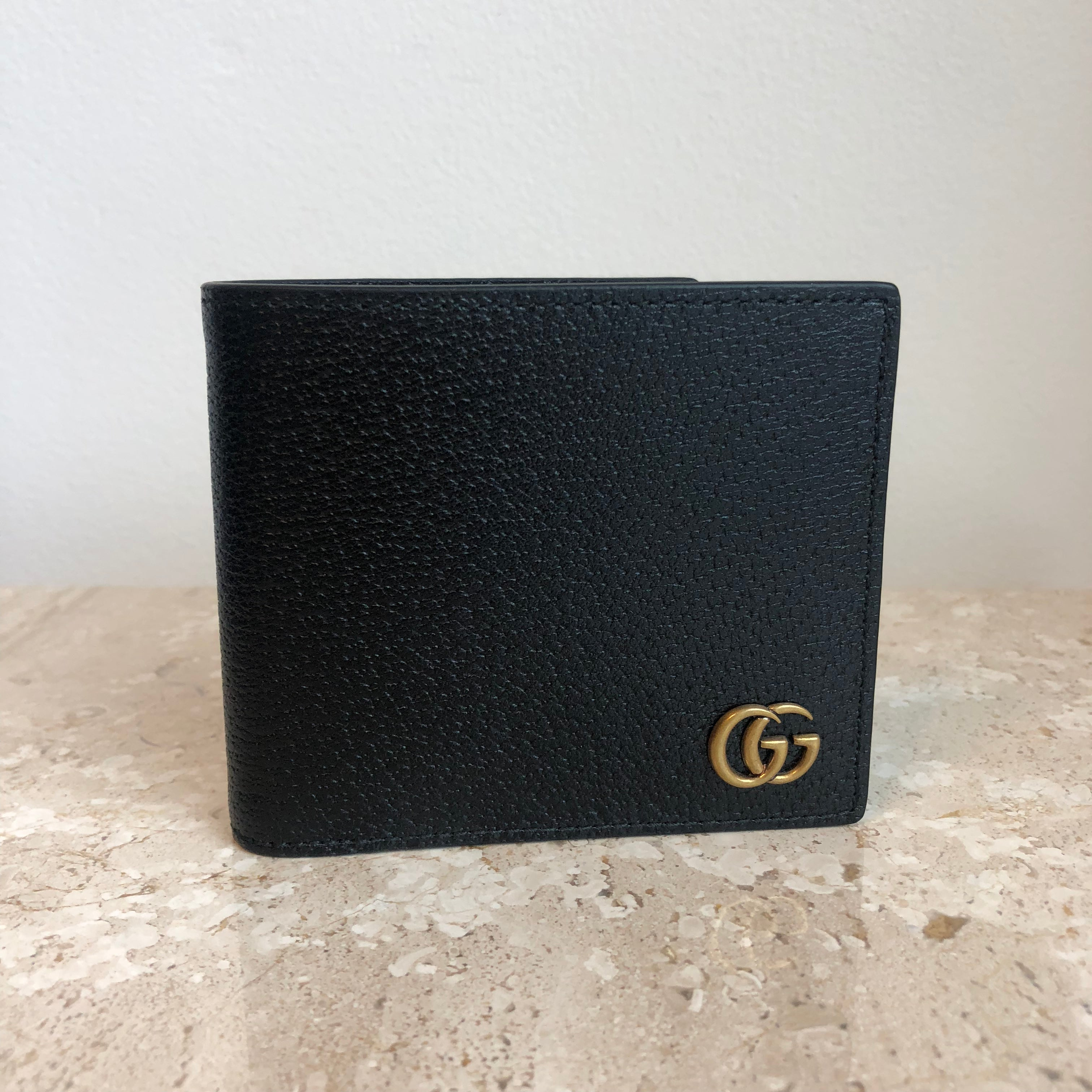 Authentic GUCCI Marmont Mens Leather Wallet