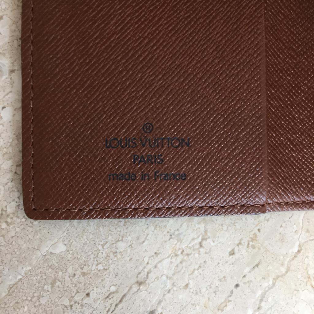 Authentic LOUIS VUITTON Monogram Card Holder