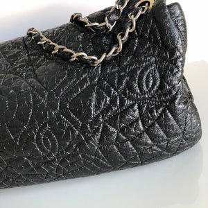 Authentic CHANEL Graphic Edge Flap Bag