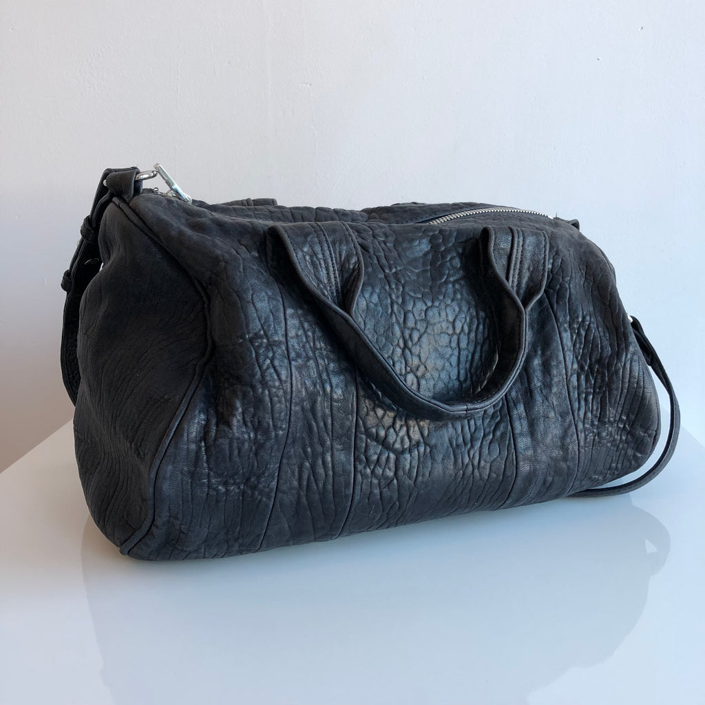 Authentic ALEXANDER WANG Rocco Black Bag