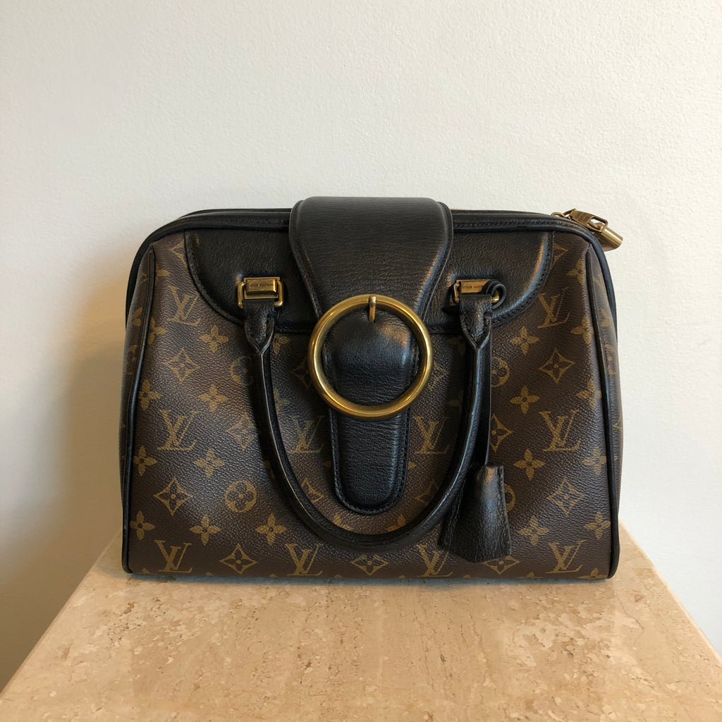 Authentic LOUIS VUITTON Limited Edition Golden Arrow Monogram Speedy