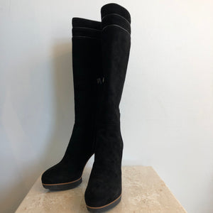 Authentic TODS Suede Knee High Size 6 boots