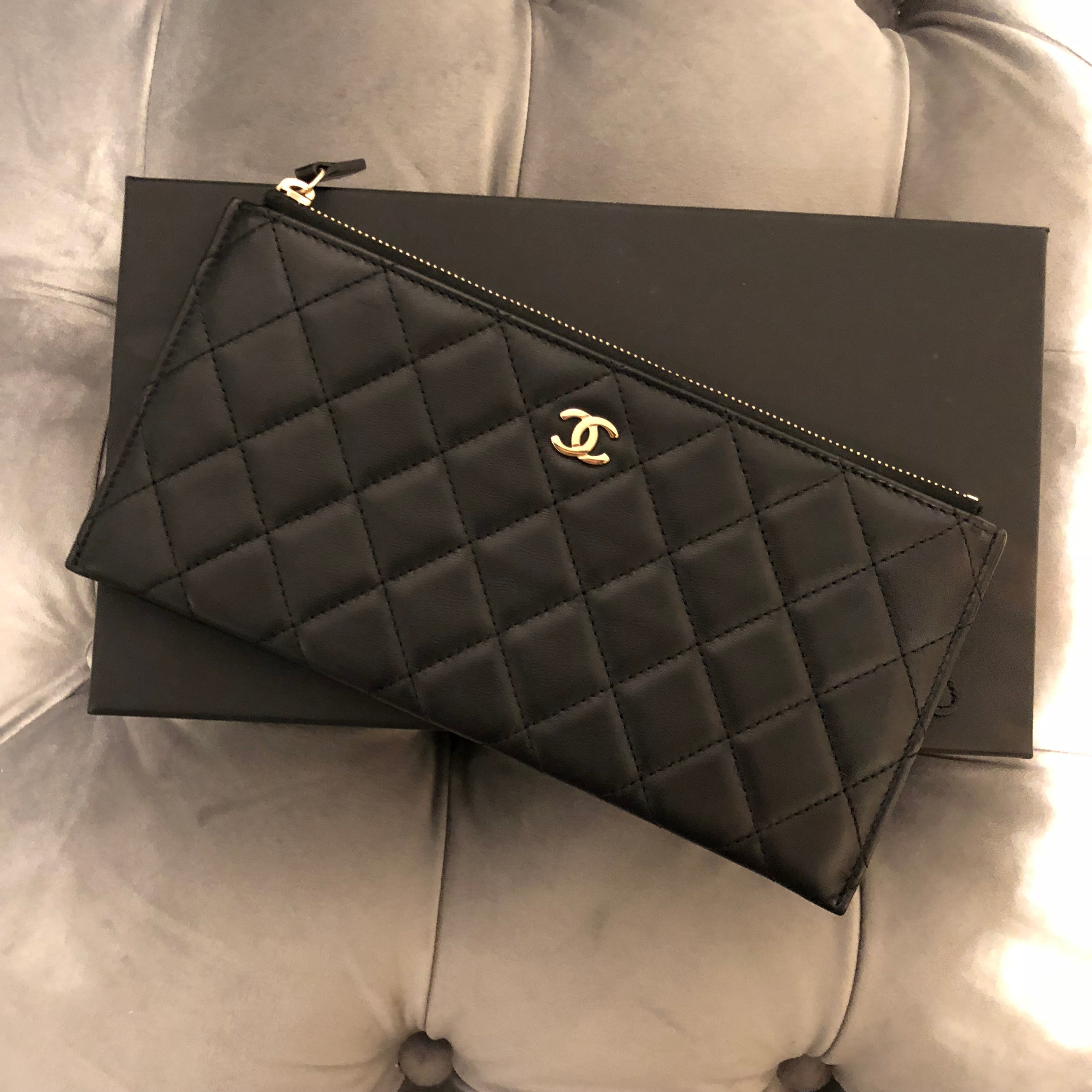 Authentic CHANEL O Case