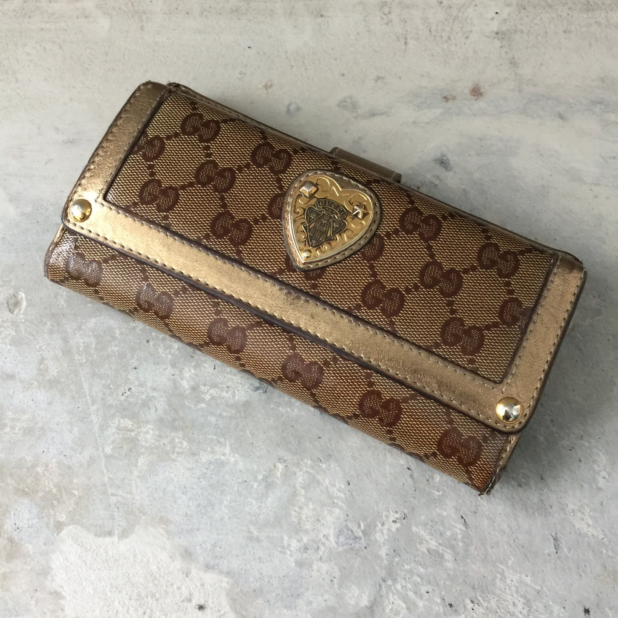 Authentic GUCCI Crystal Hysteria Wallet