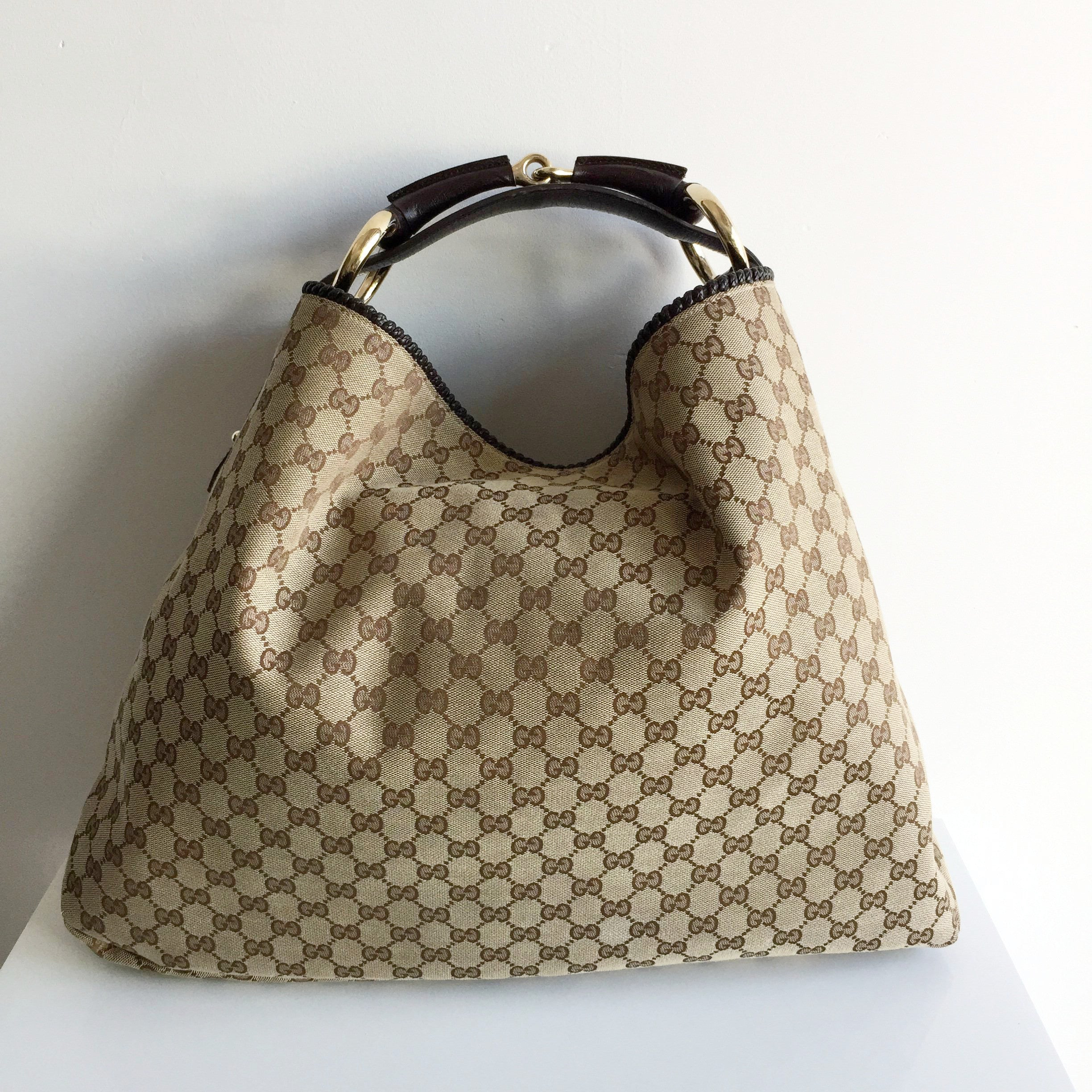 Authentic GUCCI Monogram Hobo – Valamode 3f24e47a7473e