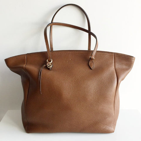 Authentic GUCCI Brown Leather Tote