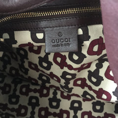 Authentic GUCCI Brown Guccissima Babsouska Indy Bag