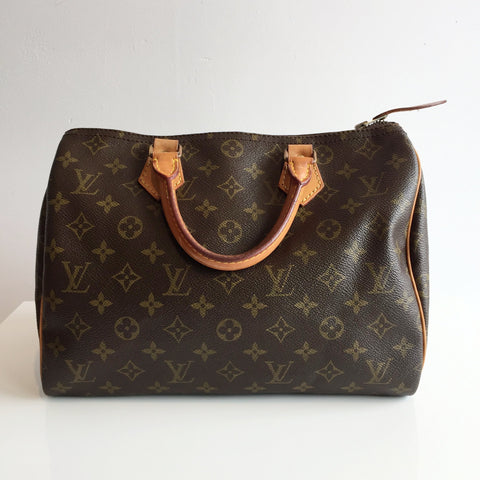Authentic LOUIS VUITTON Vintage Speedy 30