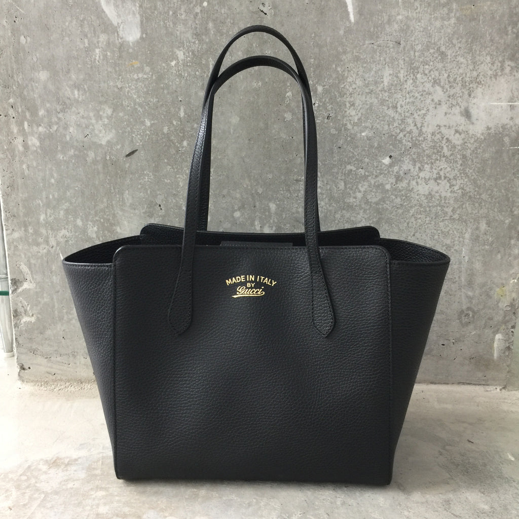 8ece5ffd6f4c Authentic GUCCI Small Swing Tote