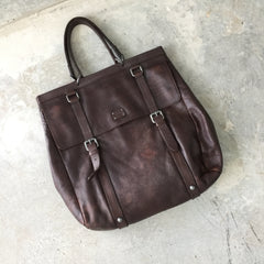Authentic DOLCE & GABBANA XL Brown Tote