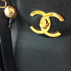 Authentic CHANEL Caviar XL Tote