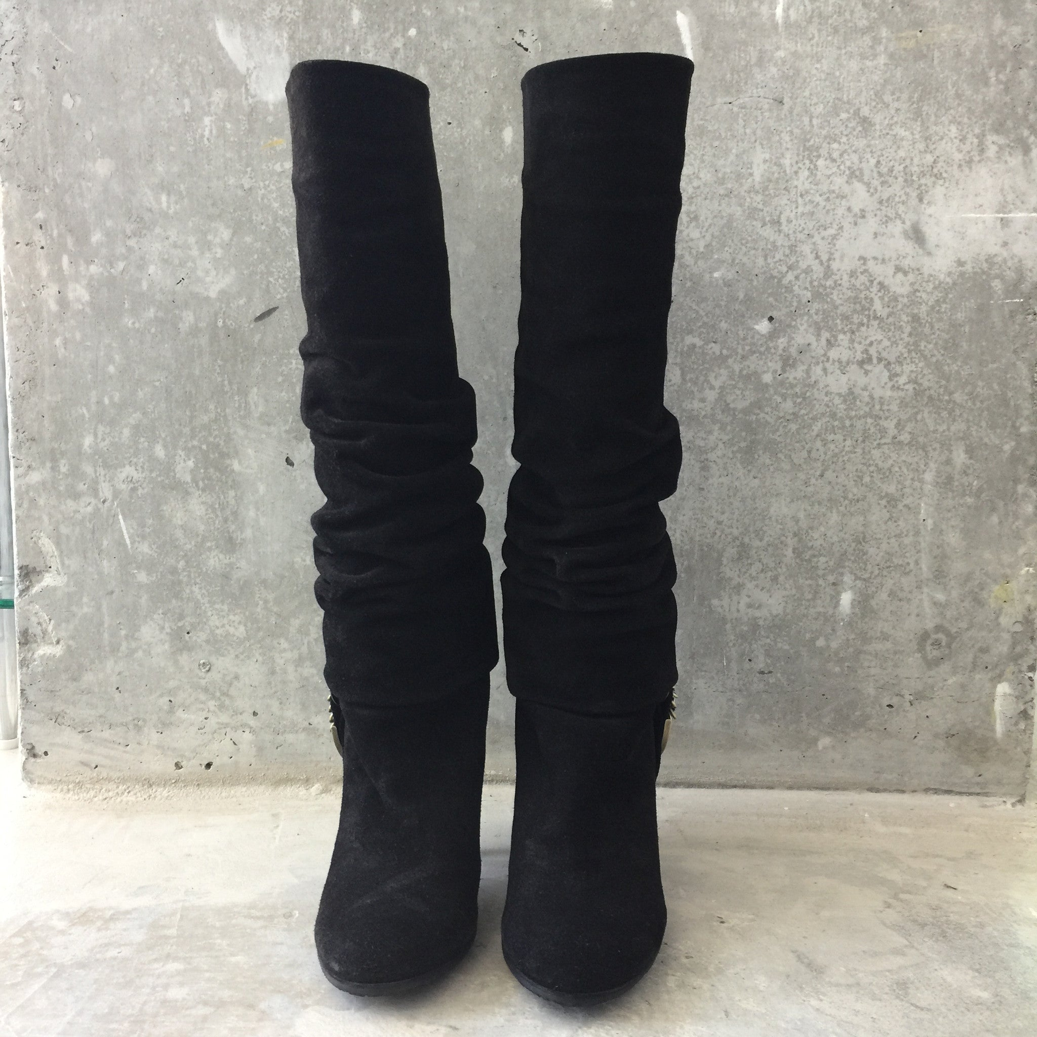 Authentic CHRISTIAN DIOR Suede Boots Size 36