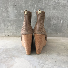 Authentic JIMMY CHOO Paw Suede Ankle Boots Size 8.5