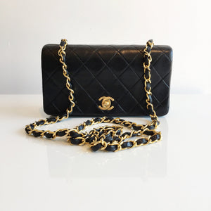 e136143b35c65f Authentic CHANEL Mini Full Flap 9