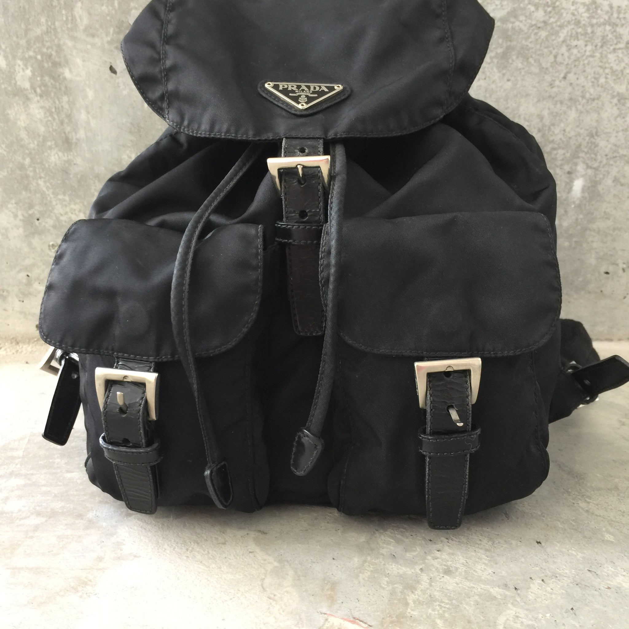 Authentic PRADA Small Backpack