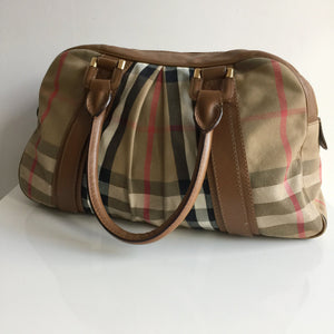 Authentic BURBERRY Large Tote