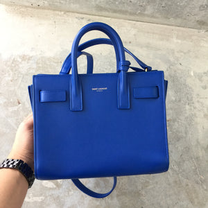 Authentic SAINT LAURENT Nano Sac De Jour