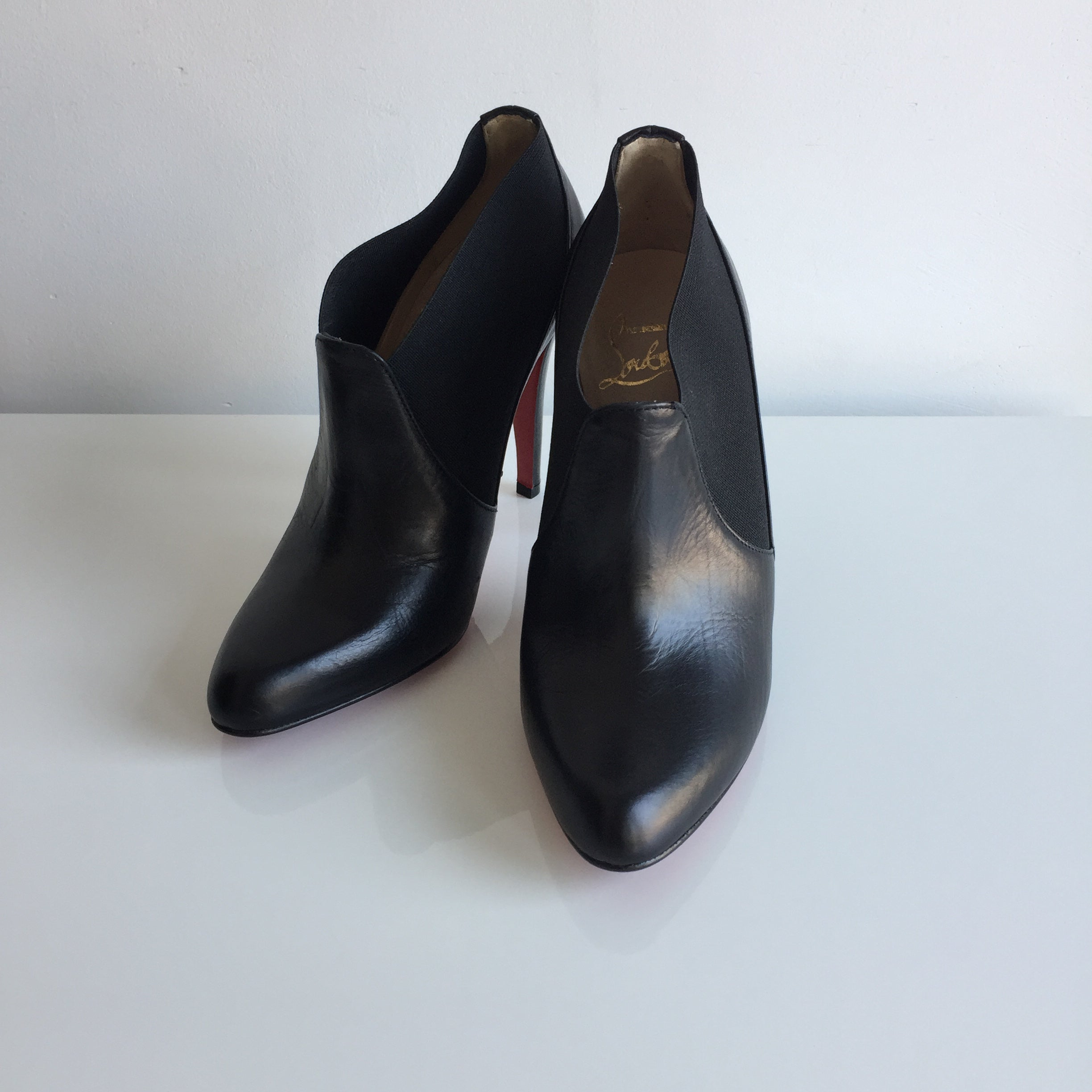 Authentic CHRISTIAN LOUBOUTIN Booties Size 6