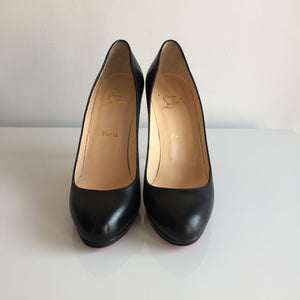 Authentic CHIRSTIAN LOUBOUTIN Black Filo 120 pumps