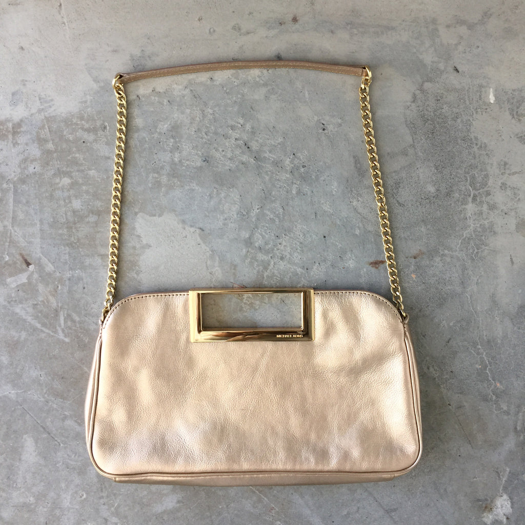55e74bdf35bb Authentic MICHAEL KORS Rose Gold Bag