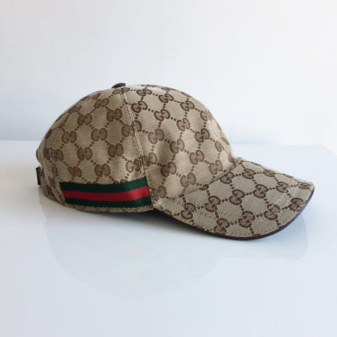 Authentic GUCCI Monogram Baseball Hat