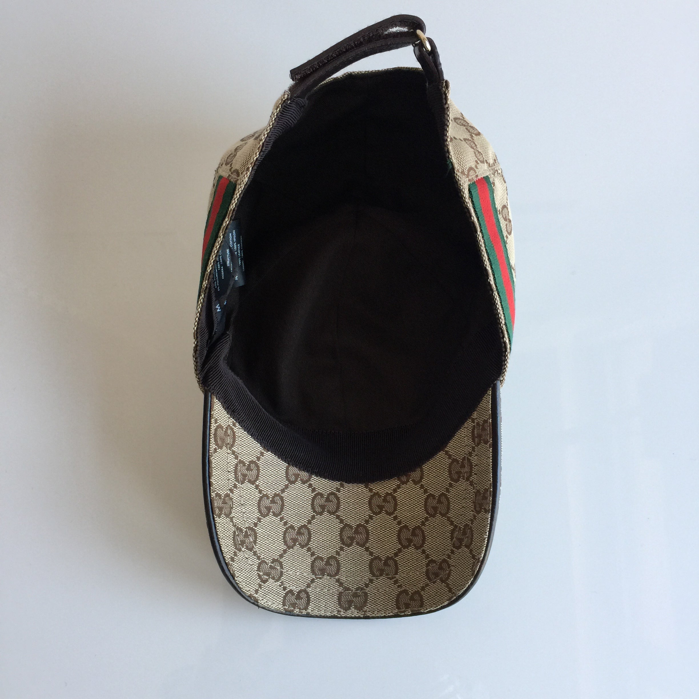 7d0913cb17f Gucci Twin Tigers Canvas Baseball Cap In Natural For Men Lyst