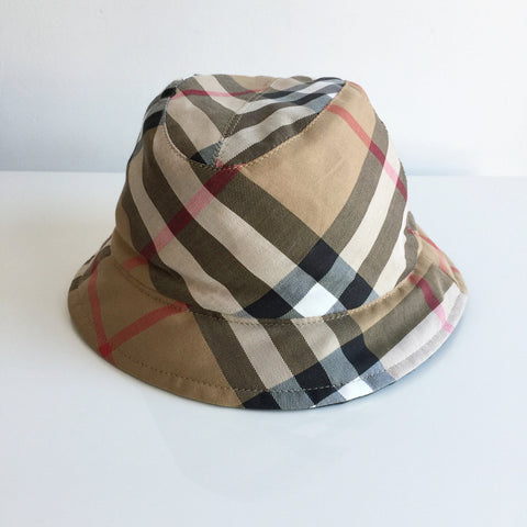 Authentic BURBERRY Novacheck Bucket Hat