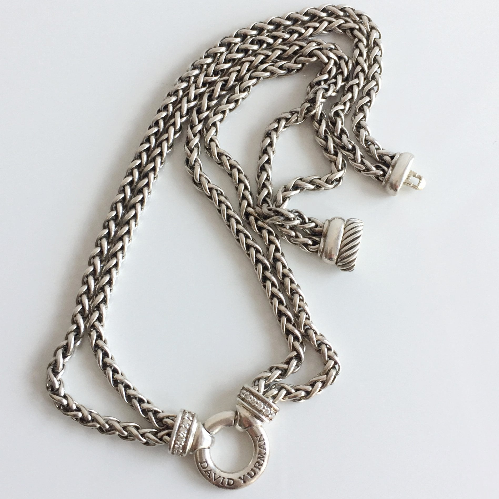 Authentic David Yurman cable necklace