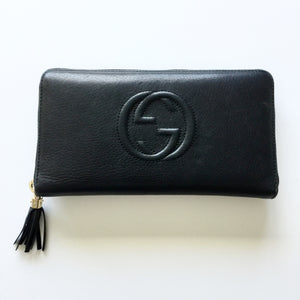 Authentic GUCCI Large Soho Organizer Wallet
