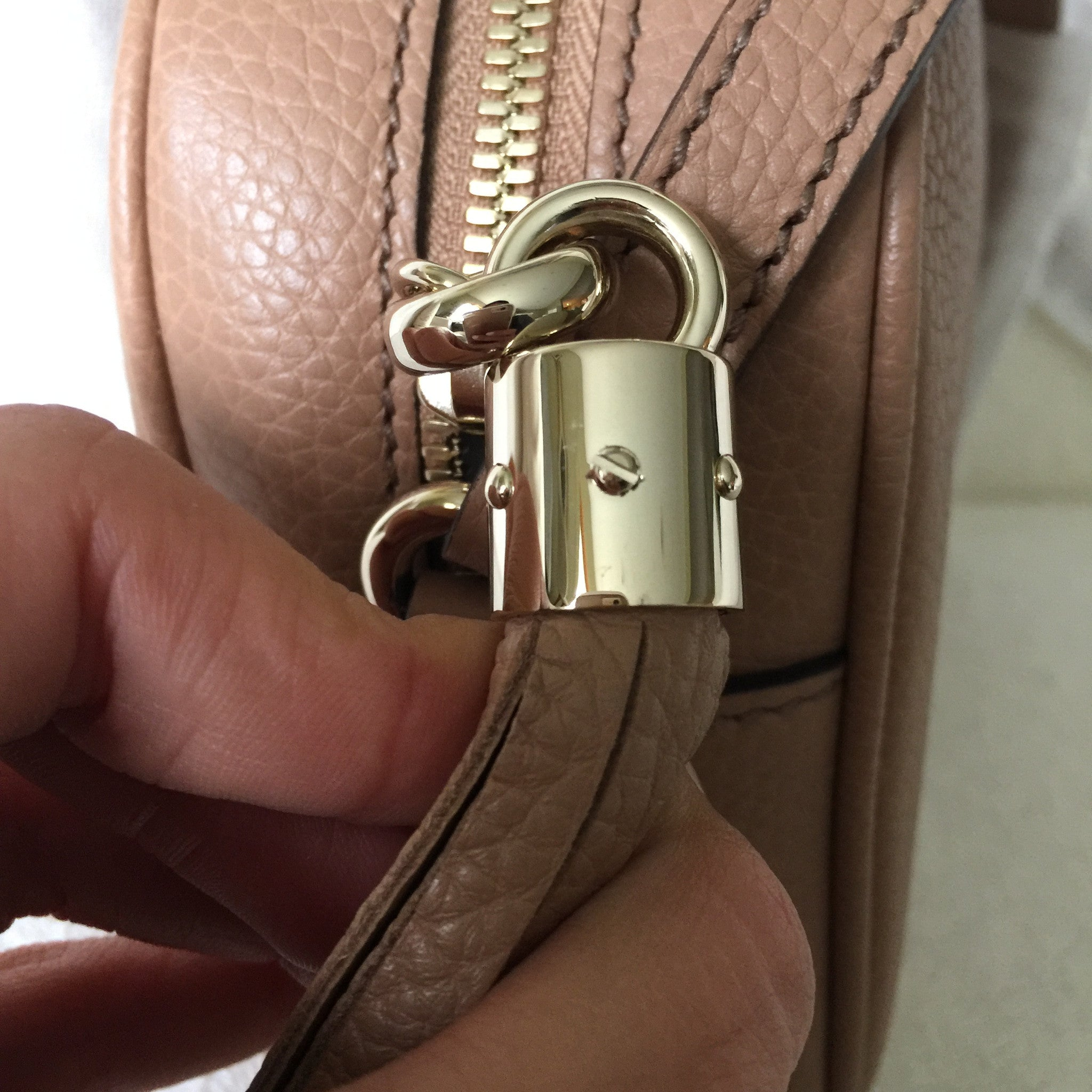 Authentic GUCCI Disco Rose Beige