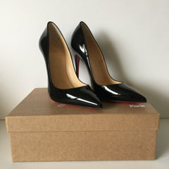 Authentic CHRISTIAN LOUBOUTIN Black So Kate Size 39