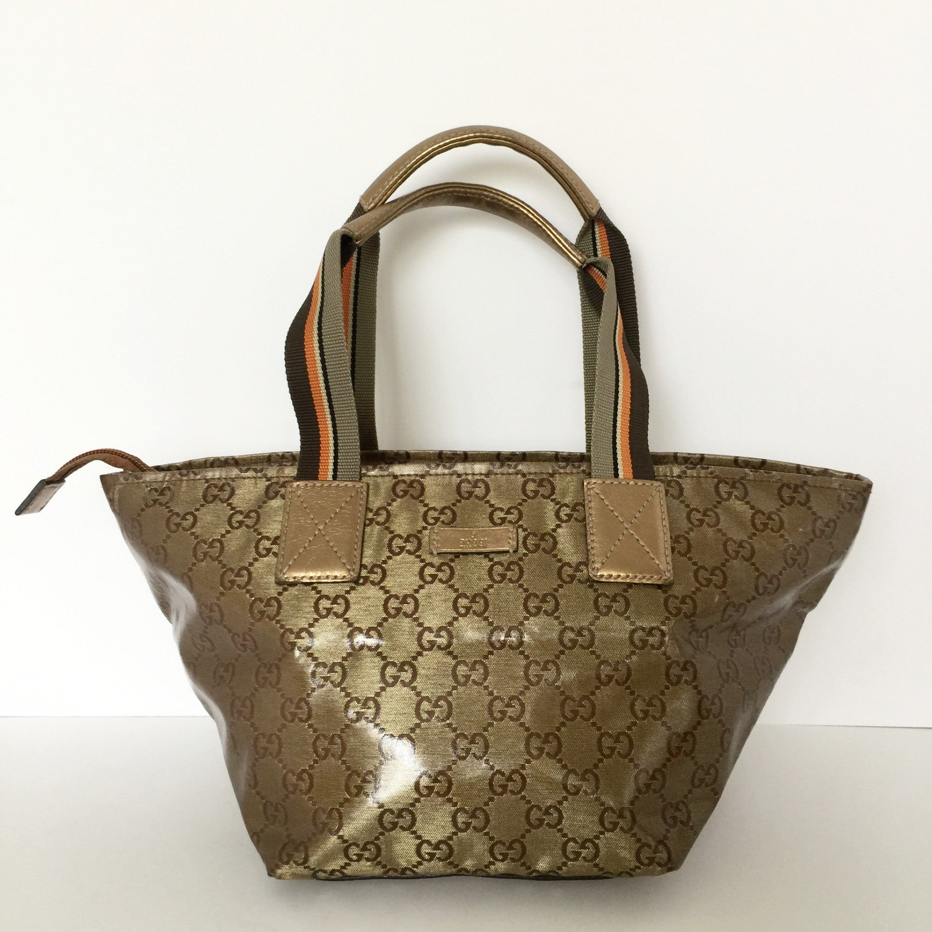 Authentic GUCCI Crystal Small Tote