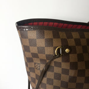 Authentic LOUIS VUITTON Neverfull Damier Ebène GM