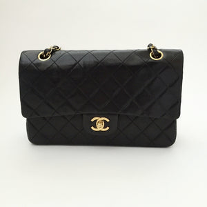 "Authentic CHANEL Vintage 10"" Double Flap"