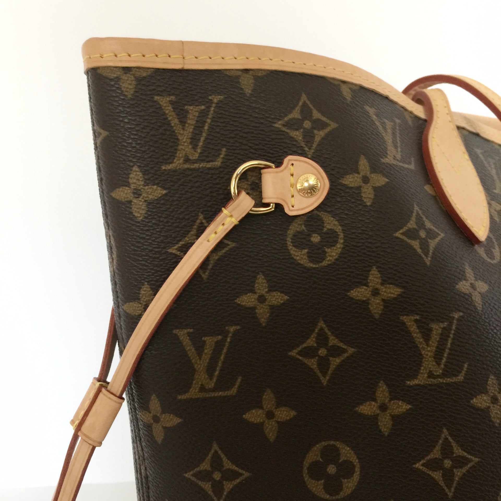 Authentic LOUIS VUITTON Monogram Pivione Neverfull MM