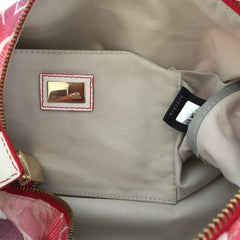 Authentic FENDI Logo Boston Bag
