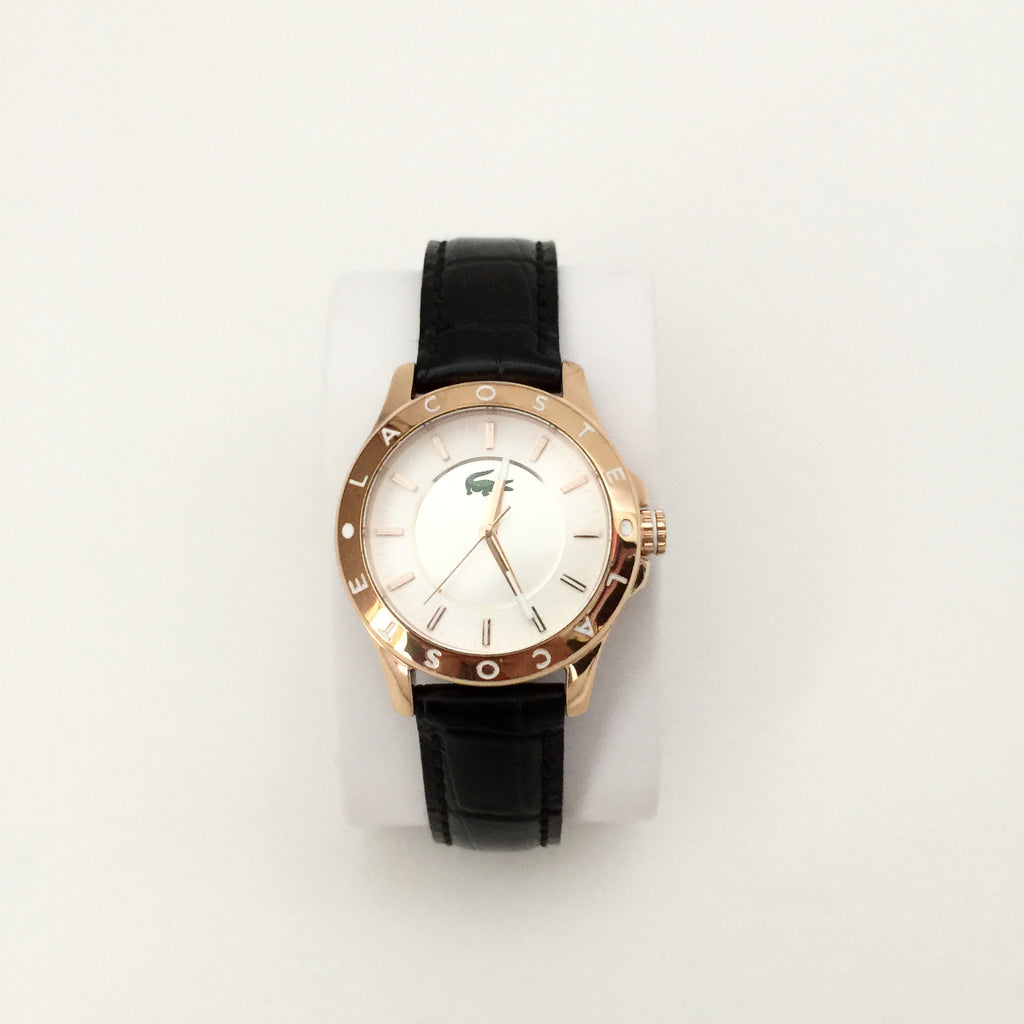 Authentic LACOSTE Rose Gold Watch
