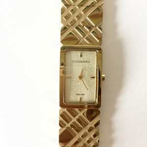 Authentic BURBERRY Signature Check Watch