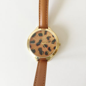 Authentic MICHAEL KORS Cheetah Wrap Watch