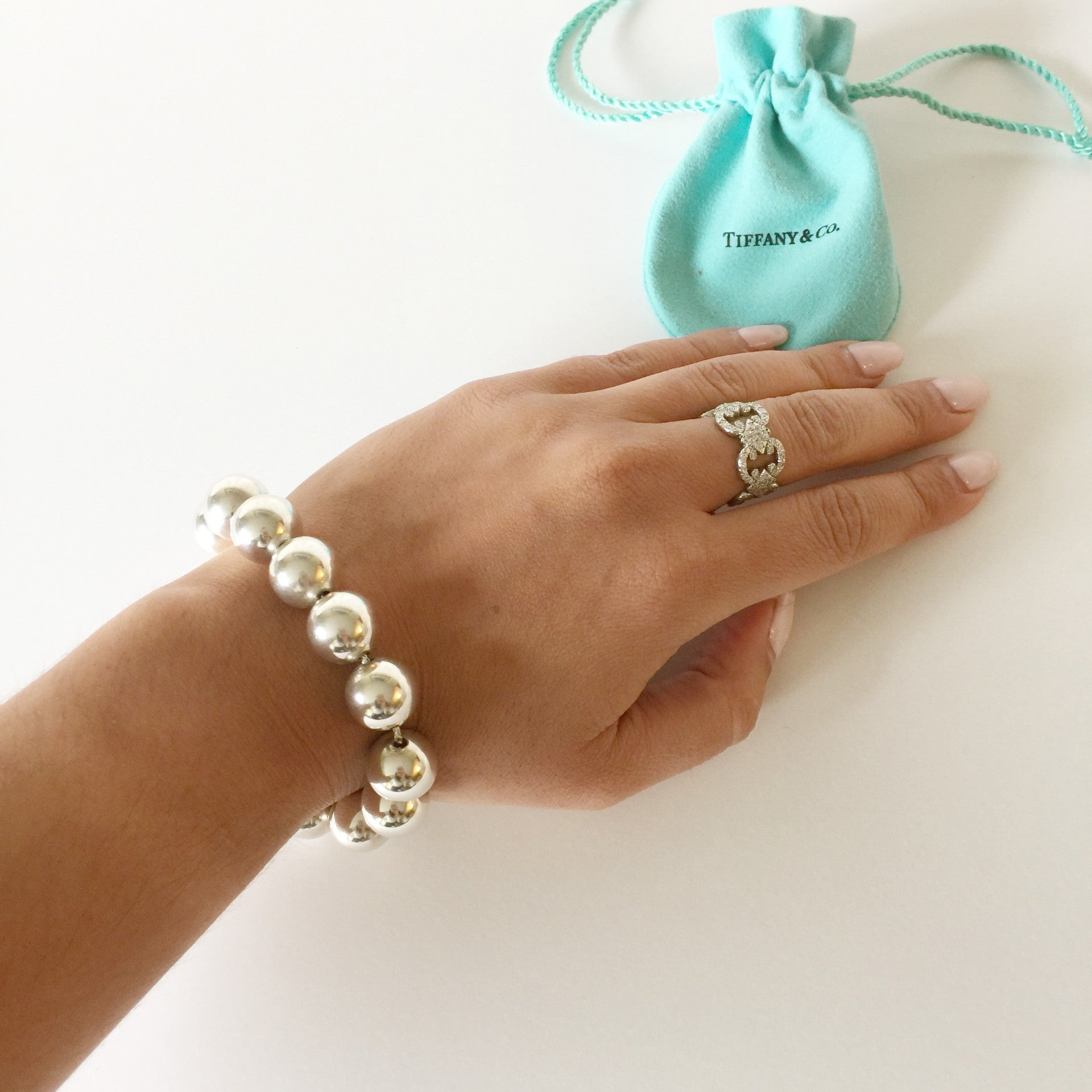 27de327ea Authentic TIFFANY & CO Large Bead Bracelet – Valamode