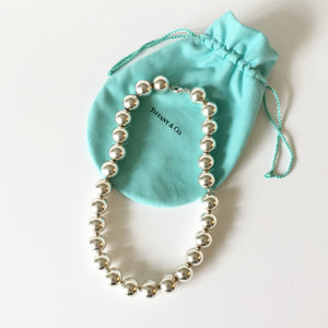 Authentic TIFFANY & CO Large Bead Necklace