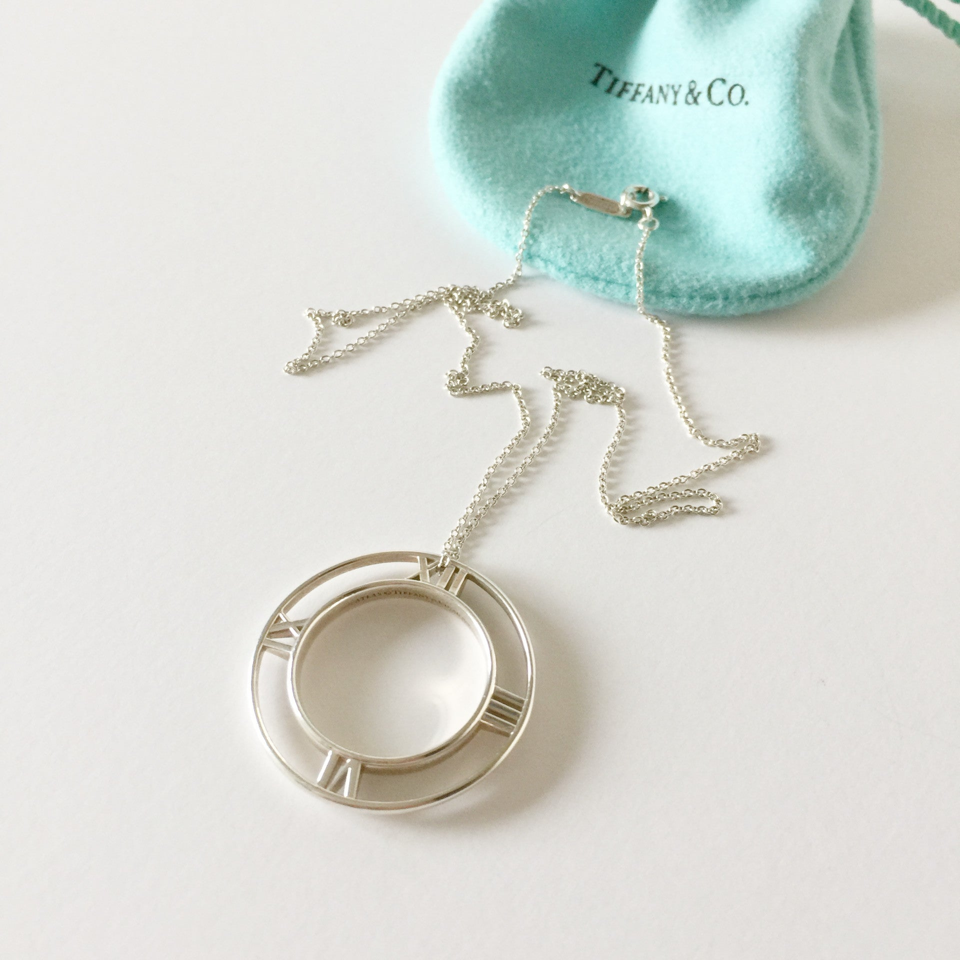 Authentic Tiffany & Co Atlas Necklace