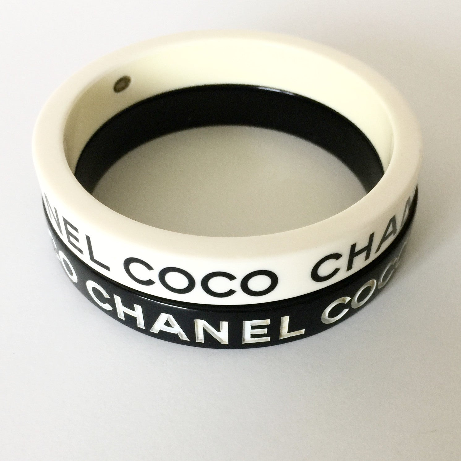 Authentic CHANEL Coco Bangles