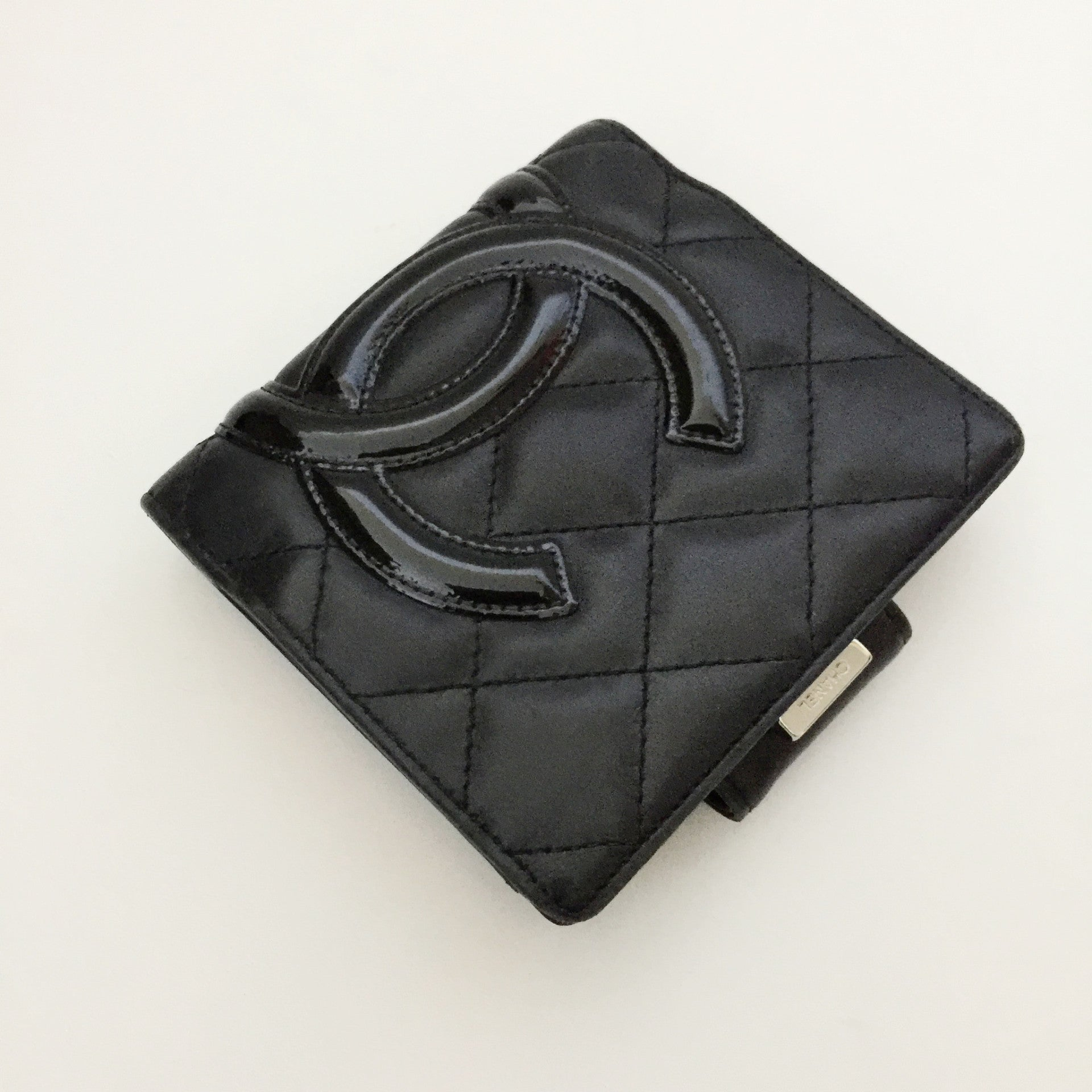 Authentic CHANEL Cambon Compact Wallet