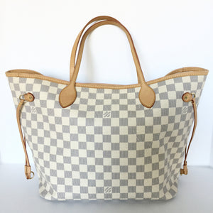 Authentic LOUIS VUITTON Neverfull Azur MM