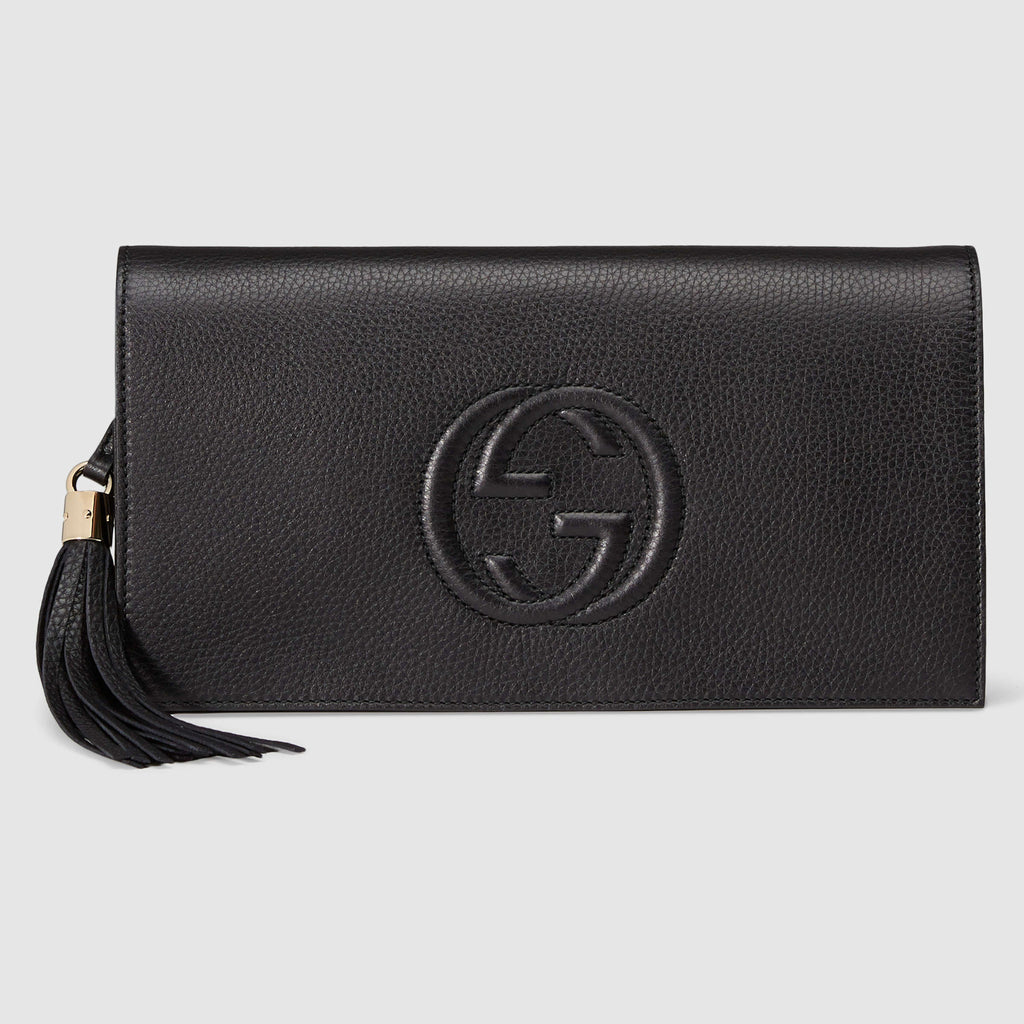 7edf74d93bf6 Authentic GUCCI Soho Back Clutch